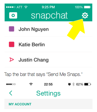 How to block someone on snapchat who added you