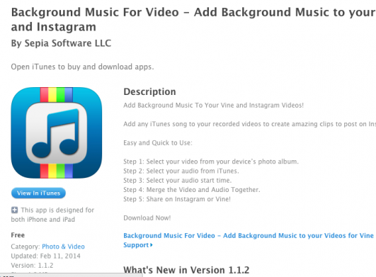 How do i add music to a vine video blurtit httpsitunesleusappbackground ccuart Images